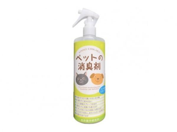 KINNO CHIKARA ペットの消臭剤